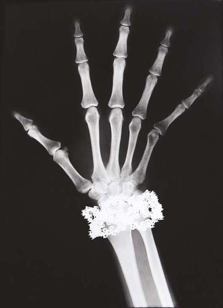 16: HELMUT NEWTON, Van Cleef & Arpels Diamond Bracelet