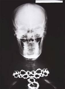 HELMUT NEWTON, Van Cleef & Arpels Diamond Necklace