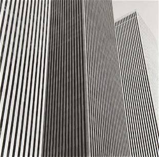 HARRY CALLAHAN, World Trade Center, 1974
