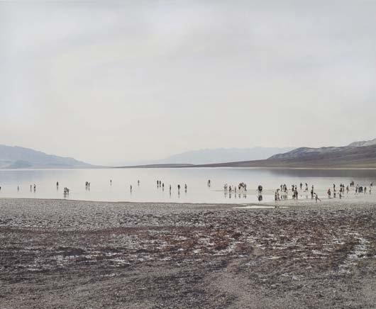 30: JOEL STERNFELD, Badwater Lake, Death Valley, Califo