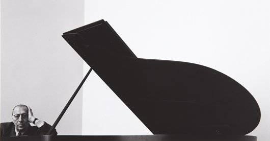 282: ARNOLD NEWMAN, Igor Stravinsky, New York, 1946