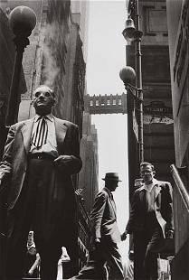 298: LEONARD FREED, Wall Street, New York City, 1956