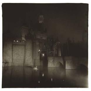 305: DIANE ARBUS, A Castle in Disneyland, CA, 1962