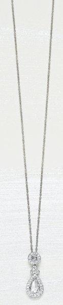 11: , A Diamond Pendant Necklace