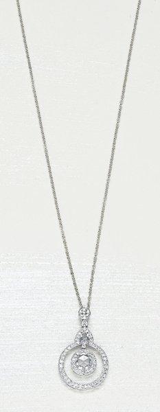 13: , A Diamond Pendant Necklace