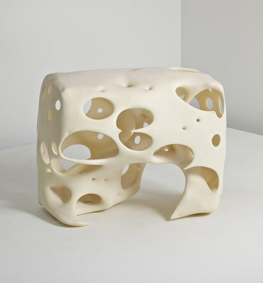 19: PETER MACAPIA, Prototype 'Double SS' stool, 2007