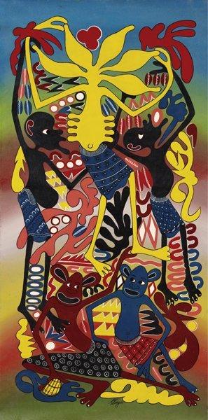 9: GEORGE LILANGA DI NYAMA, Untitled