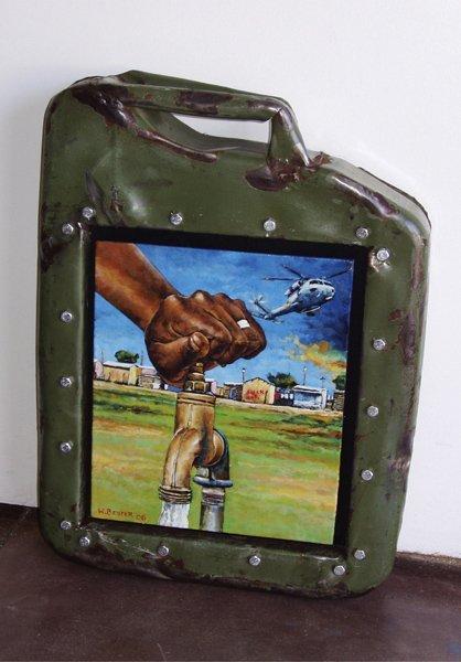 23: WILLIE BESTER, Water Pump, 2006