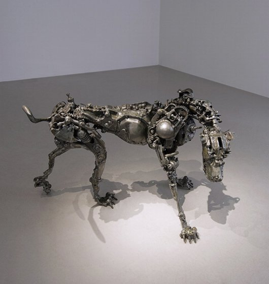 25: WILLIE BESTER, Dog II, 2008