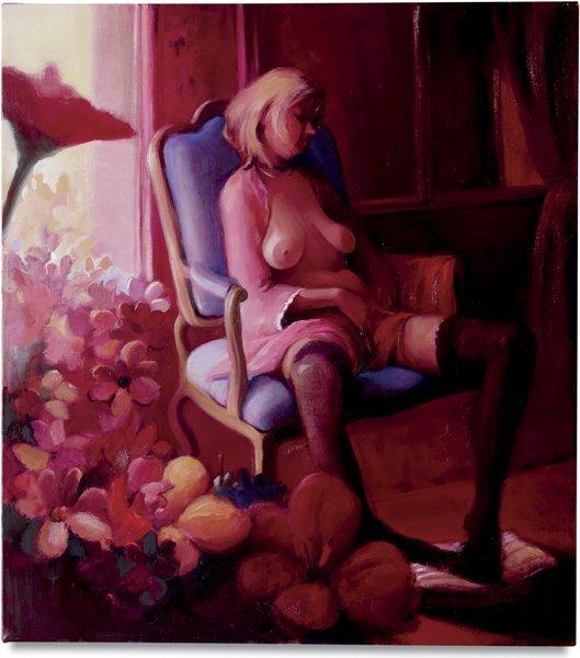 111: LISA YUSKAVAGE, KK in Red Room, 2000