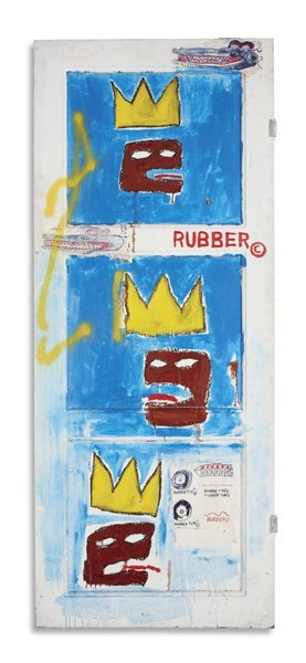116: JEAN-MICHEL BASQUIAT, Rubber, 1984
