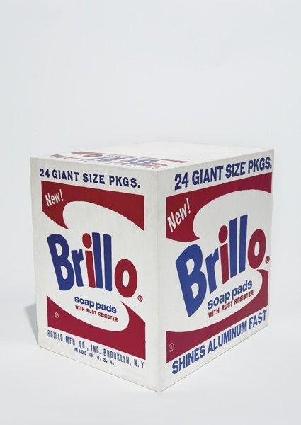 135: ANDY WARHOL, Brillo Soap Pads Box, 1964
