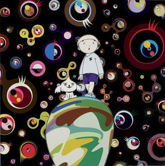 211: TAKASHI MURAKAMI, Jellyfish Eyes - MAX & Shimon in