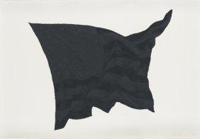 ROBERT LONGO, Study For Black Flag 2C, 1990