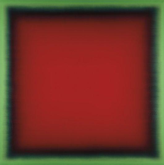 305: ERIC FREEMAN, Red Inside Green (Happiness), 2005