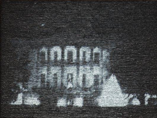 313: DONALD MOFFETT, Aluminium/White House Unmoored, 20