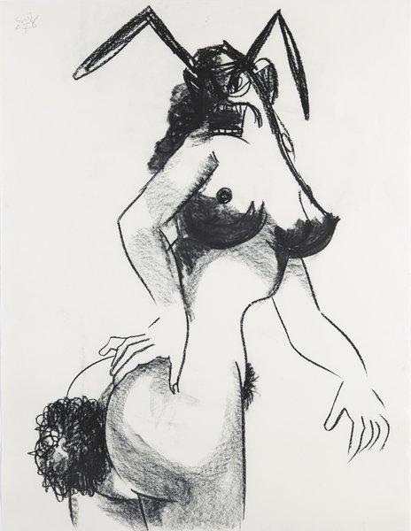 324: GEORGE CONDO, Big Bunny, 2007