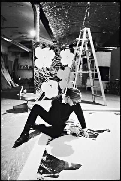 12: DAVID McCABE, Andy Warhol in his studio, New York