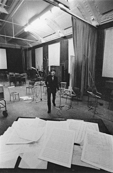 15: BRIAN DUFFY, Paul McCartney at CTS Studios