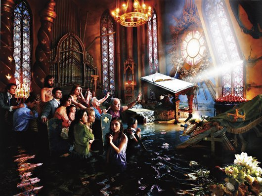 19: DAVID LACHAPELLE, Cathedral
