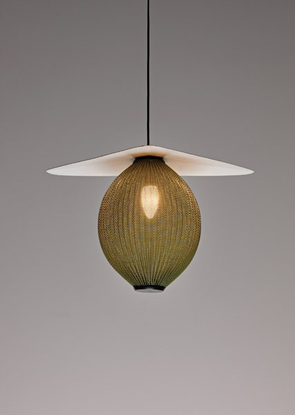 "1: MATHIEU MATÈGOT, ""Satellite"" ceiling light, ca. 1953"