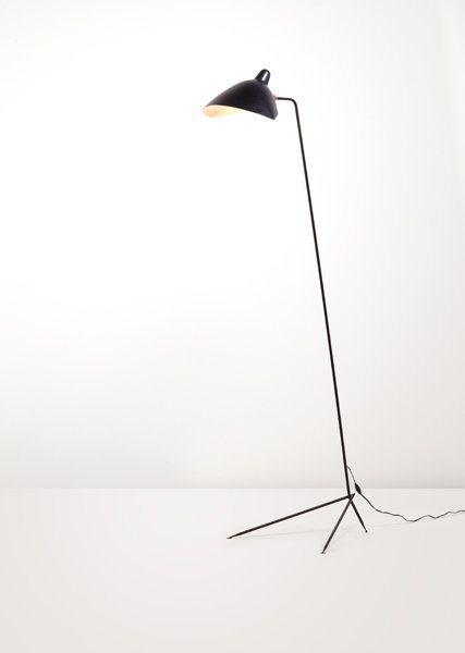 3: SERGE MOUILLE, Floor lamp, ca. 1953