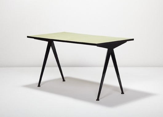 "7: JEAN PROUVÉ, ""Cafétéria"" table, model no. 512, ca. 1"