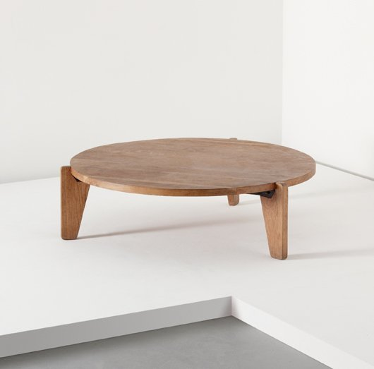 10: JEAN PROUVÉ, Low table, model no. GB 21, ca. 1949