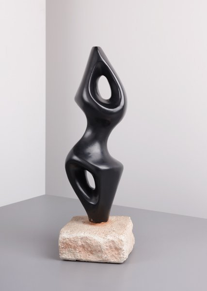11: GEORGES JOUVE, Abstract sculpture, 1954