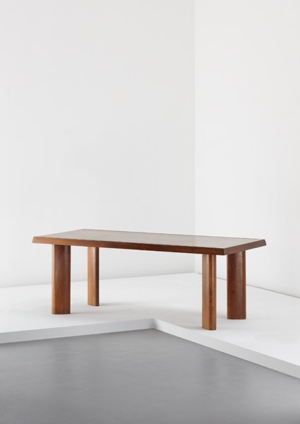 14: CHARLOTTE PERRIAND, Dining table, ca. 1965