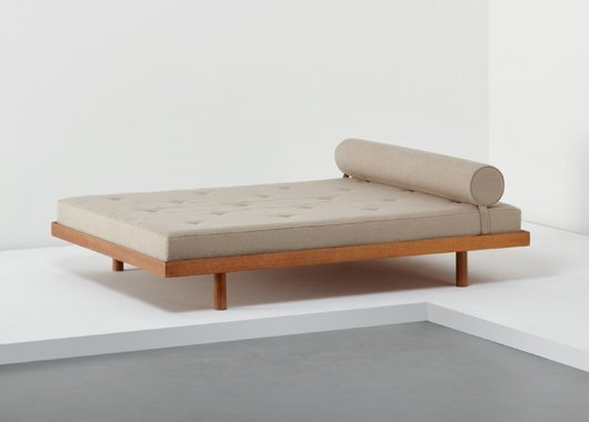 22: CHARLOTTE PERRIAND, Double bed, from Cité Internati