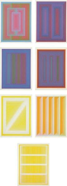 3: RICHARD ANUSZKIEWICZ, Sequential portfolio: eight pl