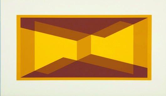6: JOSEF ALBERS, I-S VVII, 1971