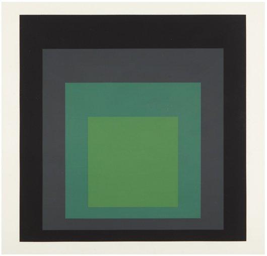 8: JOSEF ALBERS, I-S j, 1973