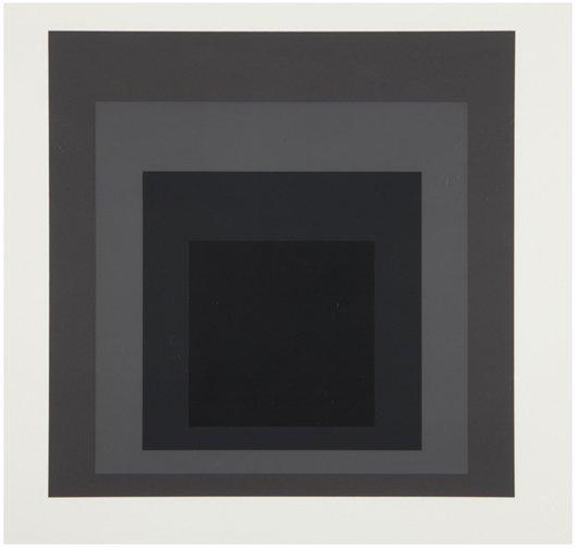 9: JOSEF ALBERS, I-S LXXIIa, 1972