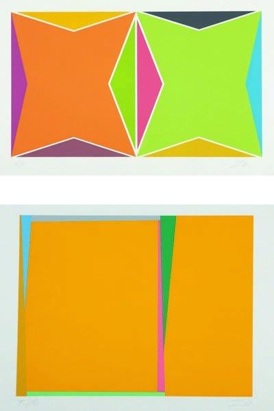 11: LARRY ZOX, Three Untitled prints, circa 1978