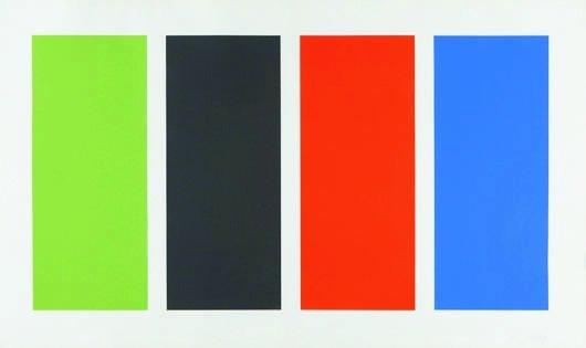 16: ELLSWORTH KELLY, Four Panels, 1971