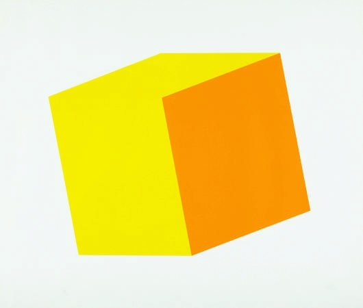 17: ELLSWORTH KELLY, Yellow/Orange, 1970