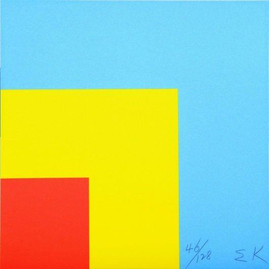 18: ELLSWORTH KELLY, Red Yellow Blue, 2000