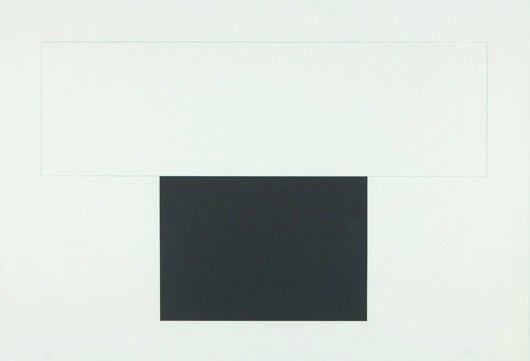 20: ELLSWORTH KELLY, White Bar with Black, 1973