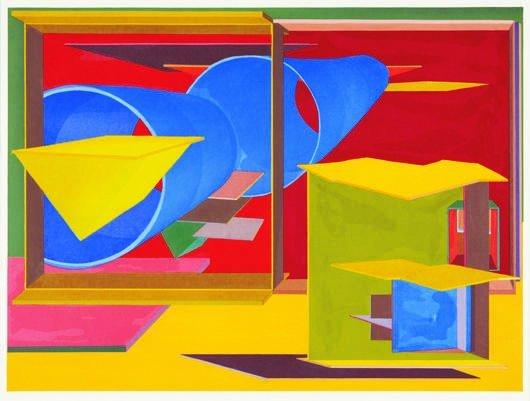 21: Al Held, Pachinko, 1989