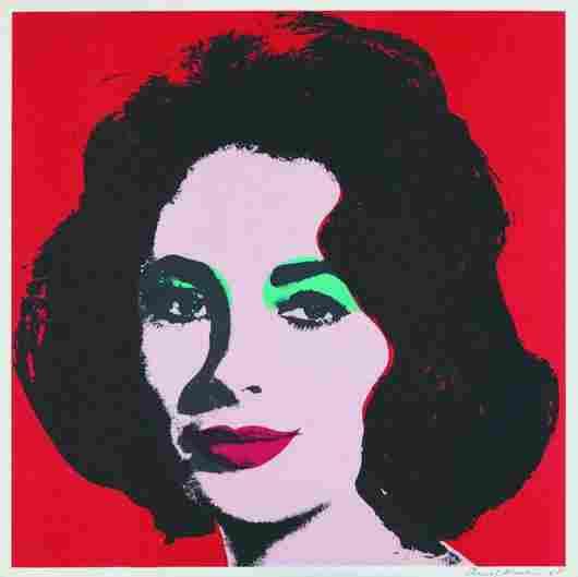 321: Andy Warhol, Liz, 1964