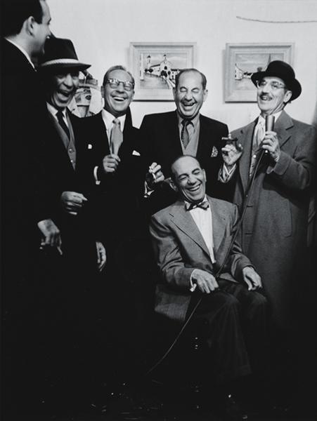 4: ALLAN GRANT, Marx Brothers, circa 1952
