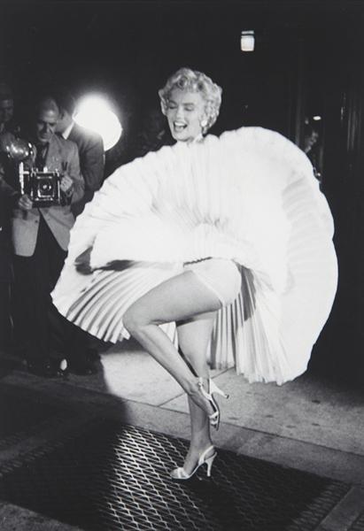 11: GEORGE ZIMBEL, Marilyn Monroe N.Y.C., 1954