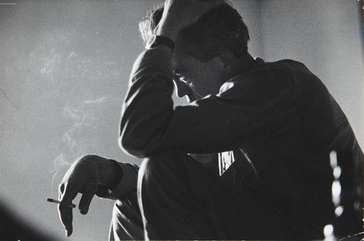 21: ERNST HAAS, John Huston, Portrait of him at his hot