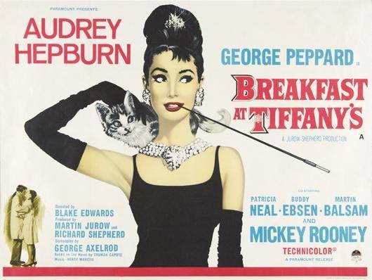 171: Audrey Hepburn in Breakfast at Tiffany's, 1961