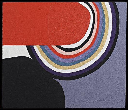 4: ALBERTO BURRI, Cellotex, 1982
