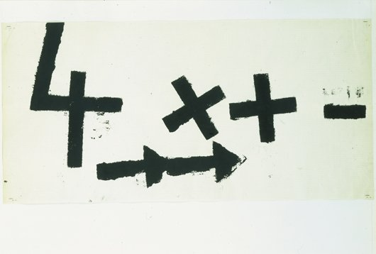 9: JANNIS KOUNELLIS, Simboli, 1960