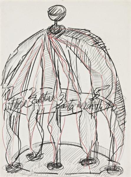 19: MARIO MERZ, Untitled, 1984