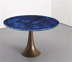 203: ANGELO MANGIAROTTI, Rare dining table, c. 1963